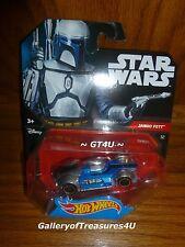 Hot Wheels Star Wars Force Awakens JANGO FETT Character Car #32 Disney 1:64
