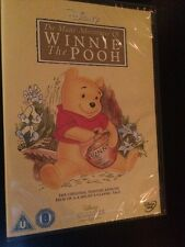 Winnie The Pooh - The Many Adventures Of Winnie The Pooh DVD White 22 On Spine