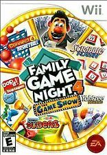 Family Game Night 4: The Game Show Nintendo Wii U FAST FREE Shipping