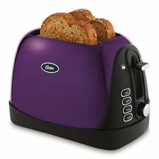 Oster TSSTTRJBP1 Jelly Bean 2Slice Toaster, Purple, New, Free Shipping