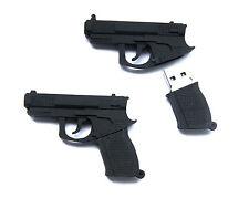 Pistole Gun PVC USB Stick mit 32 GB Speicher / USB Speicherstick Flash Drive