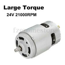 24V 21000RPM High Speed Large torque DC775 Machine Motor Electric Tool 66*12mm