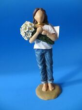 "Forever in Blue Jeans by Westland Giftware ""Thinking of You"" Figurine NIB"