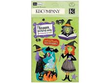 Kelly Panacci K & Company Halloween Witch Medley Stickers 30-622401