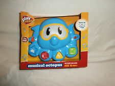 PLAY RIGHT Musical Octopus Lights Up Plays 15 Songs for Ages 18 Months +