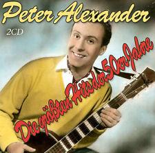 CD Peter Alexander Die größten Hits der 50er Jahre  2CDs