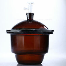 120mm,Amber Brown Glass Vacuum Desiccator Jar,12CM,Dessicator,With Stopcok