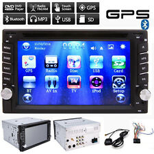 Free Europe Map + Car Head Unit CD MP3 DVD Player GPS Navigation FM Radio Stereo