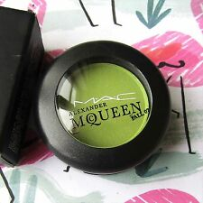 Authentic MAC Satin Eyeshadow *PAGAN* Lime Green Yellow ALEXANDER MCQUEEN Rare!