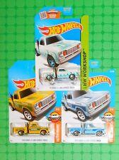 2017 Hot Wheels  #11 & #131 - 1978 Dodge Li'l Red Express Truck w/Bonus
