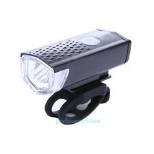 300LM Cycling Bicycle CREE LED Lamp USB Rechargeable Bike Front Light Cyclist