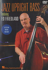 Jazz Upright Bass Featuring Ed Friedland Learn to Play Double Bass Music DVD
