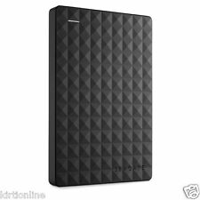 Seagate Expansion Portable Hard Drive 2TB External Hard Disk USB 3.0/2.0**