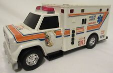 RARE! Vintage Rescue Ambulance Truck Car Toy Sounds Lights Collectible SLM, INC.