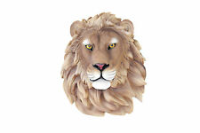 Faux Taxidermy - Lion Head Wall mount - Fake Resin wall Decor