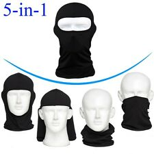 Ultra-thin Motorcycle Cycling CS Hiking Ski 5-in-1 Full Face Mask Balaclava US