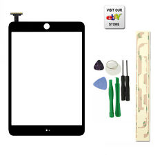 Black Touch Screen Digitizer Front Glass for IPAD MINI 1&2 Panel Replacement