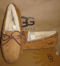 UGG Australia Women's DAKOTA Chestnut Suede Slippers Size US 8, EU 39 NIB #5612