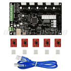 MKS Gen V1.4 3D Printer Controller Remix Board (RAMPS 1.4+Mega 2560)+A4988*5 US