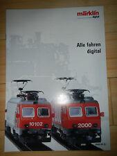 Märklin Katalog wie neu - Alle fahren digital von 1990/91    --13