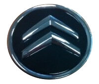 NEW GENUINE CITROEN ALLOY WHEEL CENTRE CAP ONYX/BLACK - C2, C3, C4 + PICASSO, C5