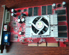 AGP card NVIDIA GeForce FX5500 FX 5500 BIOS N34B 256M DVI VGA TV-out