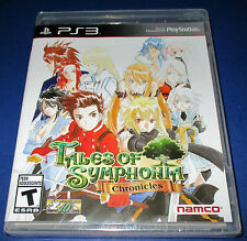 Tales of Symphonia:Chronicles Sony PlayStation 3, PS3  Factory Sealed-Free Ship