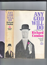 ANY GOD WILL DO.-RICHARD CONDON. STATED 1ST PRINTING-1966 HB/DJ-VG+