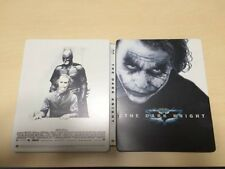 Dark Knight SteelBook japan Limited Edition Steel Book Blu-ray 2 Disc F/S