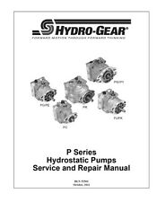 Pump PK-EBGG-1G1X-XLXX HYDRO GEAR OEM FOR TRANSAXLE OR TRANSMISSION