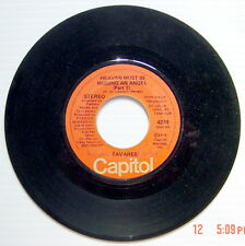 ONE 1976'S 45 R.P.M. RECORD, TAVARES, HEAVEN MUST BE MISSING AN ANGEL Part1 + 2