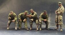 AC Models 1/35 German Panzer Crew at Rest (5 Resin Figures)