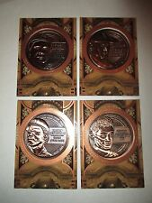 RICKEY HENDERSON 2015 Topps Update Etched in History Medallion Coin Bronze A's