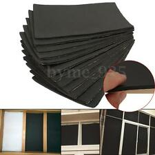 12 Sheets 10mm Car Sound Proofing Deadening Vehicle Insulation Closed Cell Foam