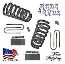 "1982-2004 S10 Sonoma Blazer Jimmy S15 4cyl 3""-4"" Lowering Springs Drop Coils Kit"