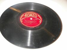 "Savoy Dance Orch Just A Little Gold Band / Bob Haring Kiss Make 10"" 78 Romeo 563"