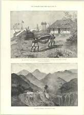 1890 Signals Post For Steamers East Africa Padre And Pupil Chilvane
