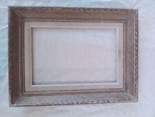 cadre  bois patiné montparnasse  feuillure 24 cm x 16 cm frame format 2P