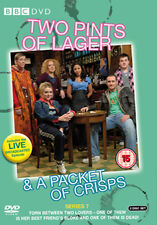 DVD :TWO PINTS OF LAGER AND A PACKET OF CRISPS - SERIES 7 - NEW Region 2 UK