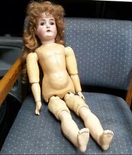 """1900 J.D. KESTNER 171 #14. 27"""" BISQUE DOLL MADE IN GERMANY, FULLY JOINTED BODY"""