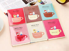Cute Carton Journal Memo Dream Notebook Paper Notepad Blank Pocket Diary