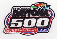 Daytona 2006 Daytona 500 NASCAR Event Patch - Jimmie Johnson Won