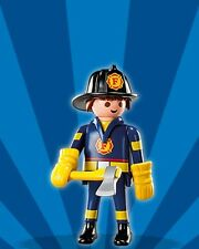Playmobil Mystery Figure Series 4 5284 Fireman w Hat Ax Gloves Firefighter NEW
