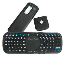 iPazzPort Handheld 2.4G Mini Wireless Keyboard Mouse Touchpad with LED Light