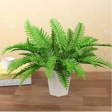 12x Artificial Fake Palm Plant Fern Leaves Foliage Home Wedding Office Decor NEW