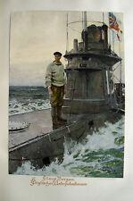 Claus Bergen Marine Royal Navy Submarine U-Boot Skagerak Entente Unterseeboot