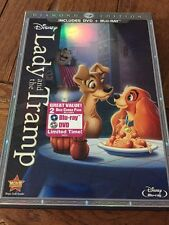 Lady and the Tramp (DVD, 2012, Diamond Edition) DVD Only No Blu Ray Disney