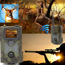 New HC-500M 940NM Scouting Hunting Camera 12MP HD GPRS MMS GSM Trail Camera 120°