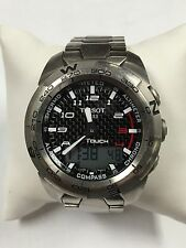 Men's Tissot Touch Expert Titanium Watch T013420A Smart