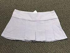 Juniors LILU Purple Lavender  corduroy PLEATED mini skirt size 11
